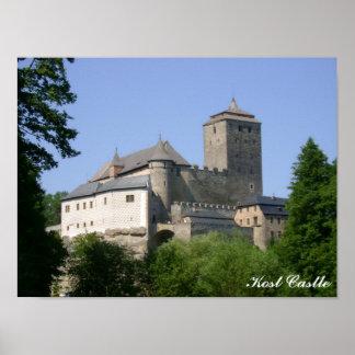 Impressão do castelo de Kost
