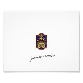 Impressão do crachá de Jane Seymour Phoenix Impressão De Foto