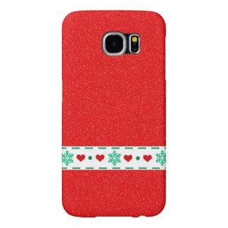 Impressão do Natal Capas Samsung Galaxy S6