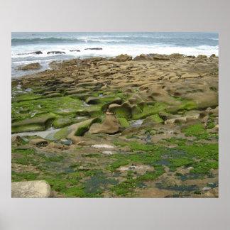Impressão do poster da foto da vista para o mar