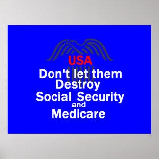 Impressão do POSTER da segurança social
