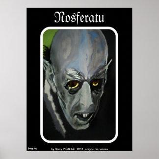 """Impressão do poster de """"Nosferatu"""""""