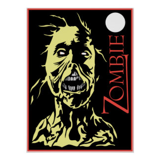 Impressão do zombi