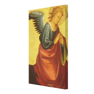 Impressão Em Canvas Anjo do renascimento pelo mestre do bebê Vispo