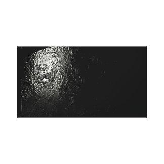 Impressão Em Canvas Arte preta abstrata da parede