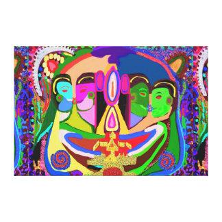 Impressão Em Canvas Arte sensual TANTRIK de Urja: Estilo indiano da