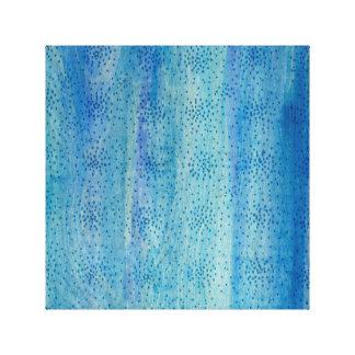 Impressão Em Canvas Azul e cerceta da arte abstracta