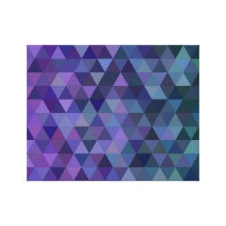 Impressão Em Canvas Azulejos do triângulo