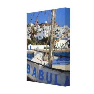 Impressão Em Canvas Barco de Babula