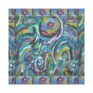 Impressão Em Canvas Beleza brincalhão das ondas: LOWPRICE sensual