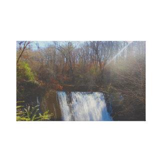 Impressão Em Canvas Cachoeiras