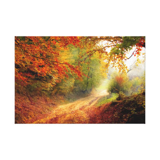Impressão Em Canvas Caminhada do outono