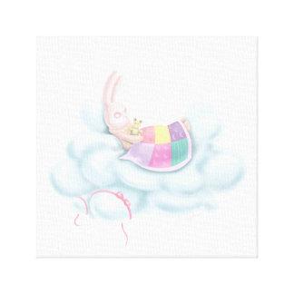 Impressão Em Canvas Coelho do bebê
