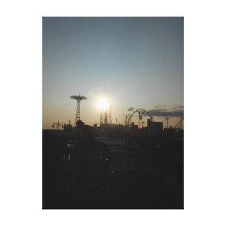 Impressão Em Canvas Coney Island, New York EUA