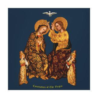Impressão Em Canvas Coroação do Virgin