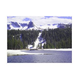 Impressão Em Canvas Crag de cristal dos lagos gêmeos