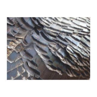 Impressão Em Canvas Design abstrato da natureza das penas II selvagem