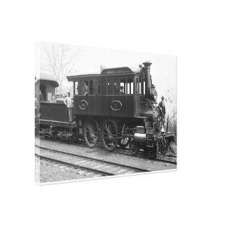 Impressão Em Canvas DL+ Locomotiva da inspeção do vapor de W