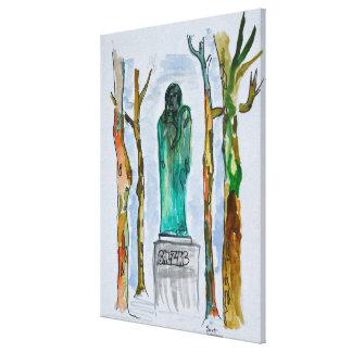 Impressão Em Canvas Estátua do Balzac por Rodin | Paris, France