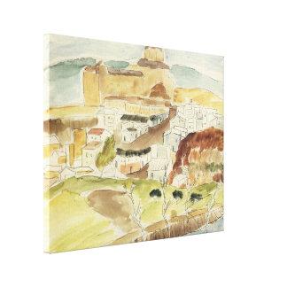 Impressão Em Canvas Expressionism do vintage, Almeria por Walter