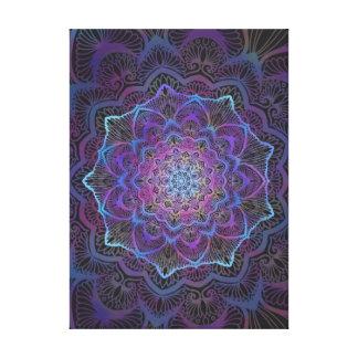 Impressão Em Canvas Flor de Chakra, boho, idade nova, espiritual