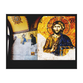 Impressão Em Canvas Jesus Cristo, Pantocreator