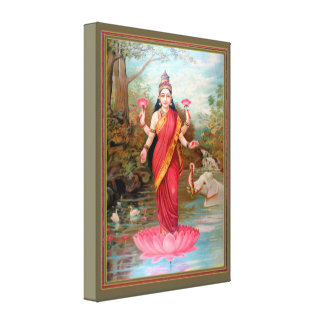 Impressão Em Canvas Lakshmi