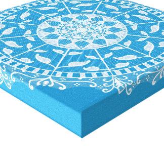 Impressão Em Canvas Mandala do Bluebird