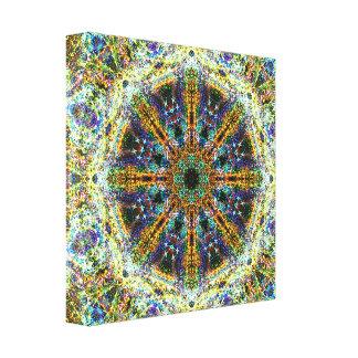 Impressão Em Canvas Mandala do Fractal