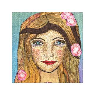 Impressão Em Canvas Menina calma