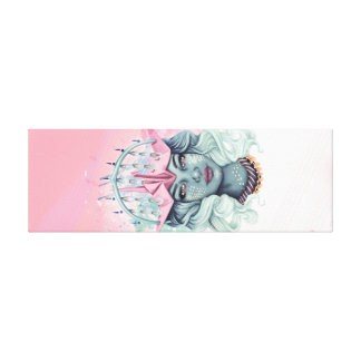 Impressão Em Canvas Menina de Tsuru Origami