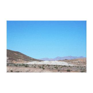 Impressão Em Canvas Montanhas de Nevada