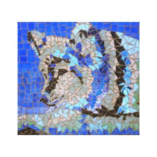 Impressão Em Canvas Mosaico do lobo