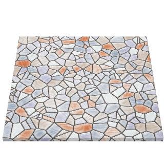 Impressão Em Canvas mosaico linda 6