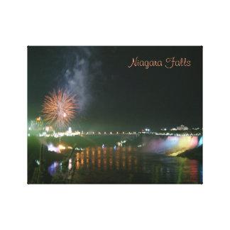 Impressão Em Canvas Niagara Falls