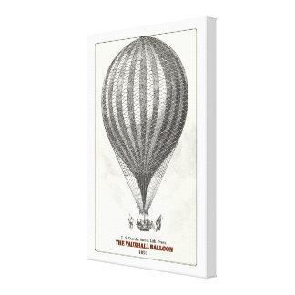 Impressão Em Canvas O balão de Vauxhall