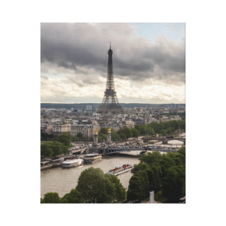 Impressão Em Canvas Opinião de Paris