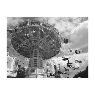 Impressão Em Canvas Parque de diversões de Paris