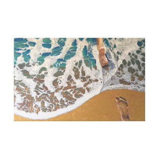 Impressão Em Canvas Passo no mar