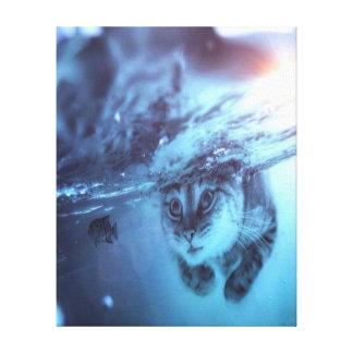 Impressão Em Canvas Peixe-gato