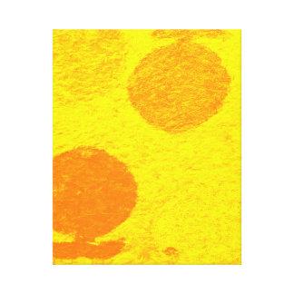 Impressão Em Canvas peixes alaranjados