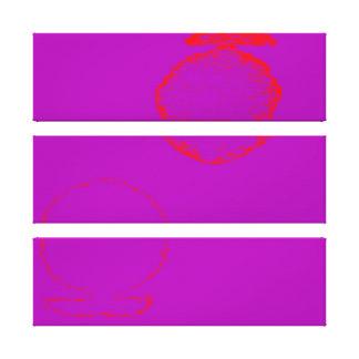 Impressão Em Canvas peixes vermelhos