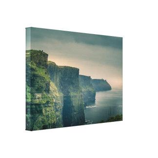 Impressão Em Canvas Penhascos de Moher, Ireland