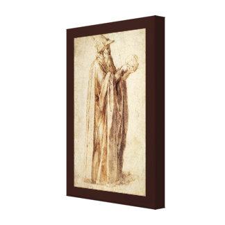 Impressão Em Canvas Renascimento do vintage, filósofo por Michelangelo