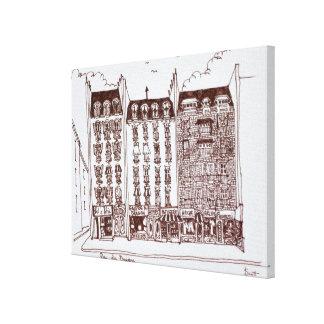 Impressão Em Canvas Rua du Dragão, Santo-Germano-DES-Pres, Paris