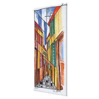 Impressão Em Canvas Ruas de Bastia | Córsega, France