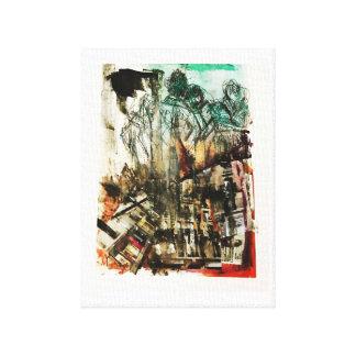 Impressão Em Canvas Ruas de Paris