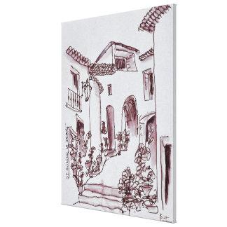 Impressão Em Canvas Santo-Guilhem-Le-Deserto da arquitetura |, France