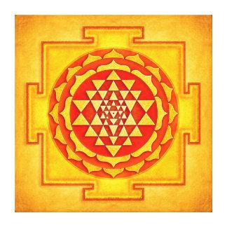 Impressão Em Canvas Sri Yantra - Artwork IV
