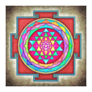 Impressão Em Canvas Sri Yantra - Artwork VII-VI